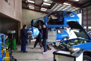Le garage d'Aiguillon